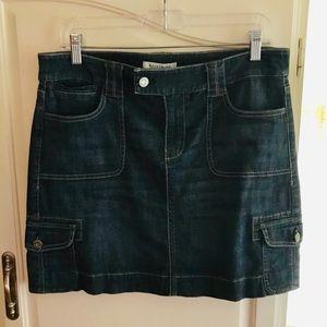 WHBM Love Effortlessly Jean Skirt